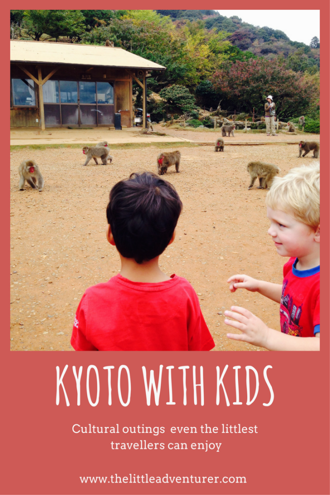 Kyoto with Kids - ideas for cultural outings even the littlest of travellers can enjoy #kyoto #japan #travel #family #toddlers