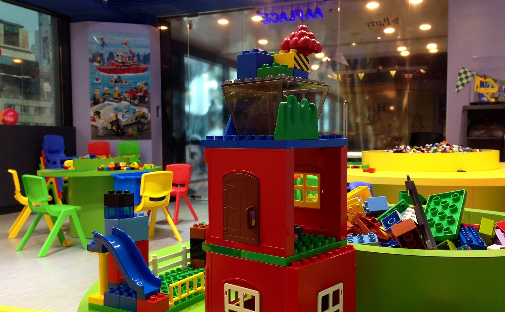 Lego Playroom In Aa Place Causeway Bay The Little