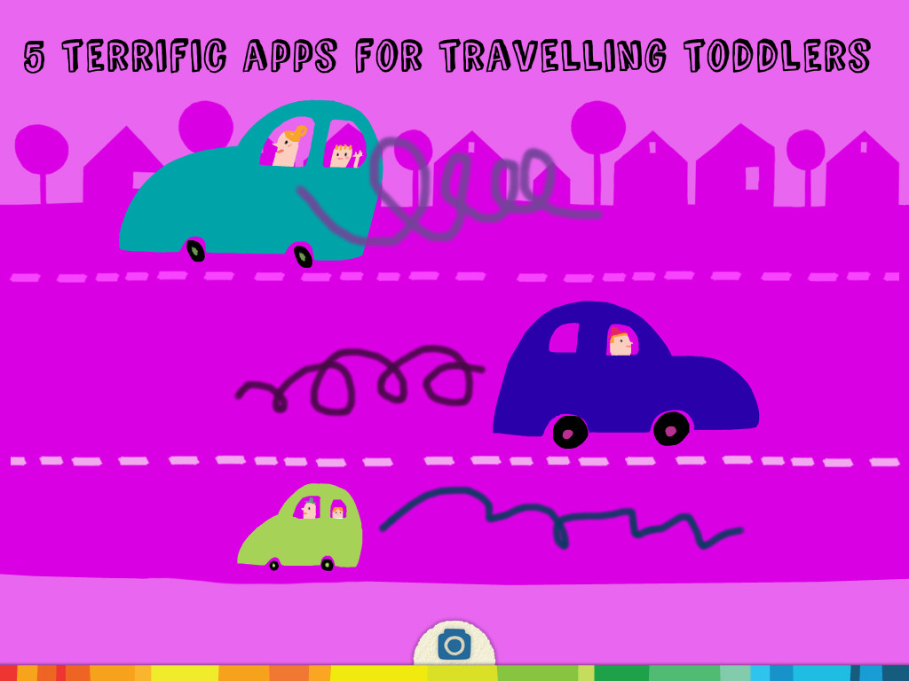 5 terrific apps for travelling toddlers