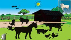 Tozzle App Screenshot of farm puzzle