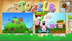 Tozzle App Screenshot of more difficult puzzles