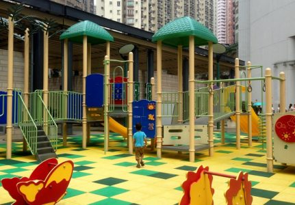 Forbes Street Temporary Playground Kennedy Town