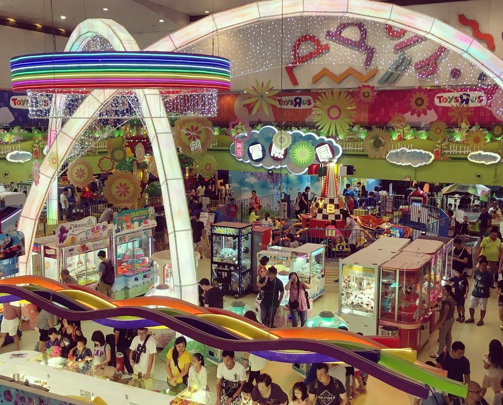 Games, rides and play-areas at Jumpin Gym at Whampoa Garden, Hong Hong - Full review at The Little Adventurer