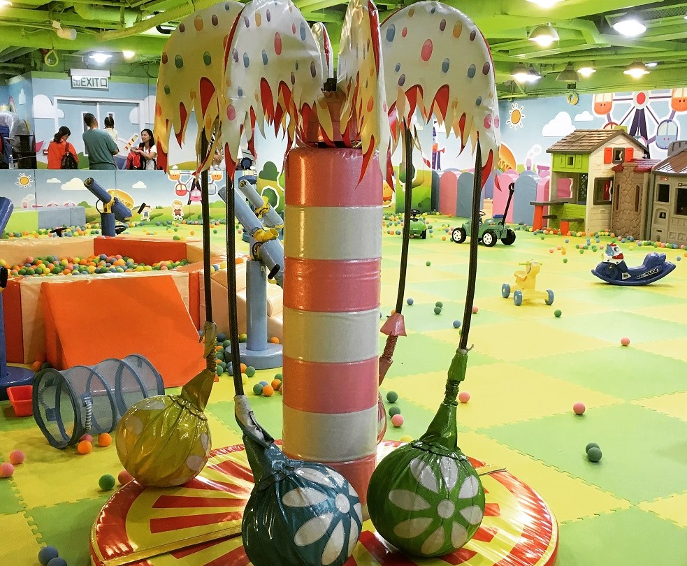 Soft Play Area at Jumpin Gym in Whampoa Garden, Hong Kong - Full review at The Little Adventurer