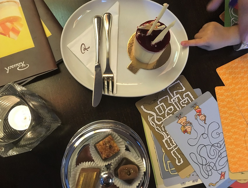 Afternoon treats at the Chocolate Cafe