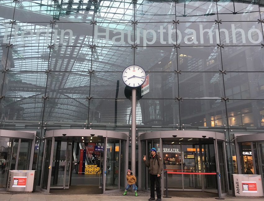 Outside Berlin Station
