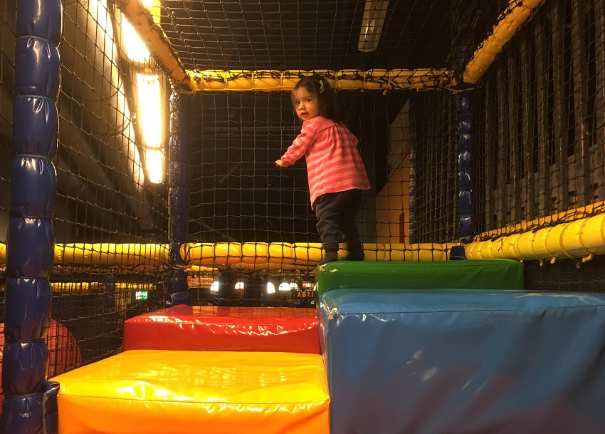 Soft play at Lego Discovery Centre Berlin