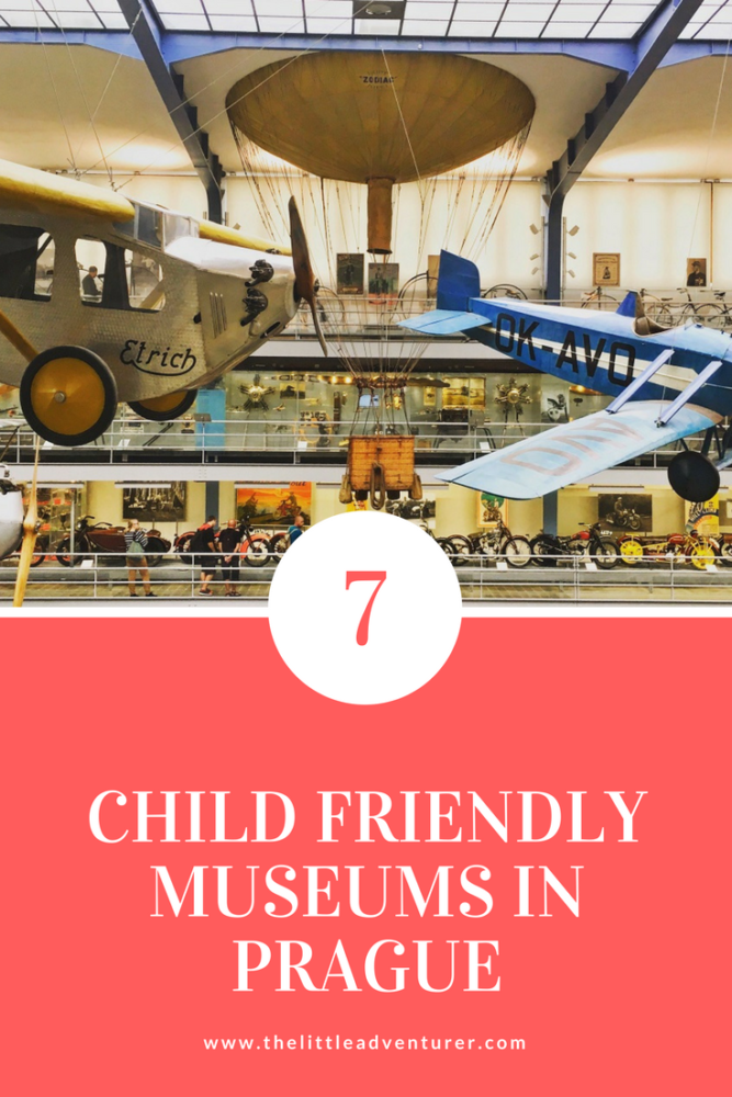 A round up of 7 child-friendly museums in Prague