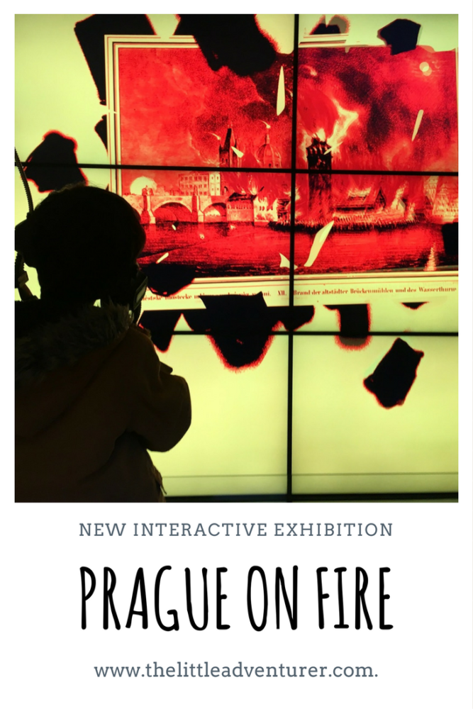 PRAGUE ON FIRE - A review of the new exhibition housed in a 17th century water tower on the banks of the Vltava river in Prague's New Town district.