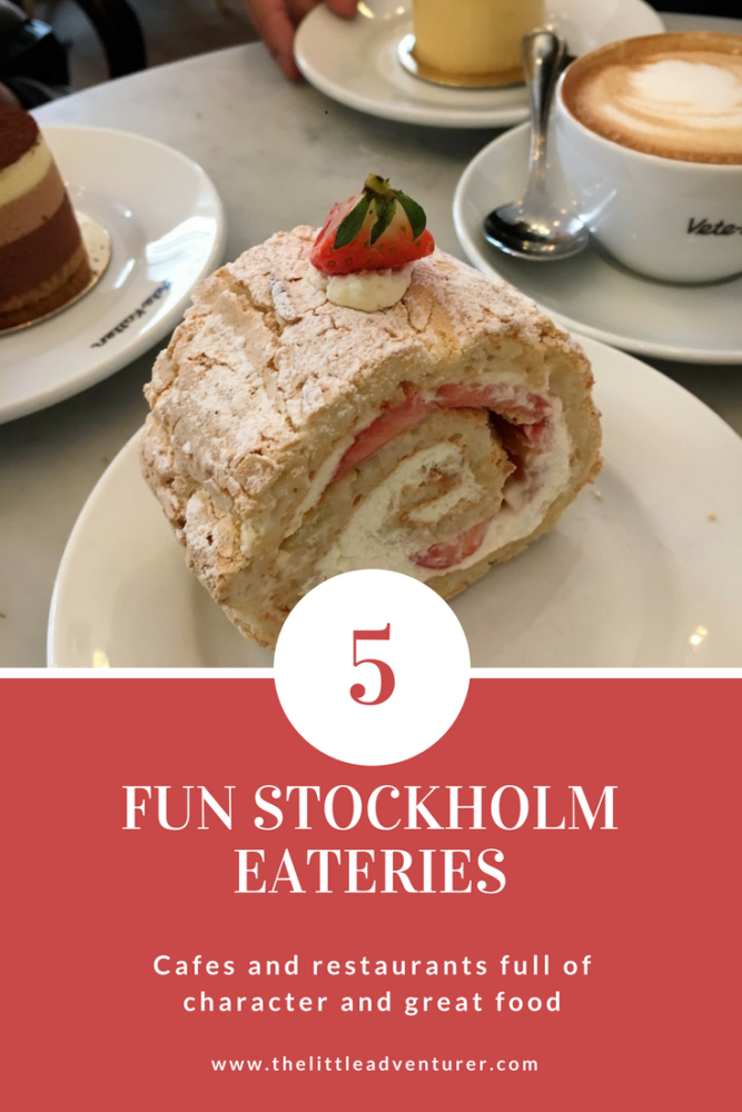5 fun places to eat in Stockholm #travel #Stockholm #family