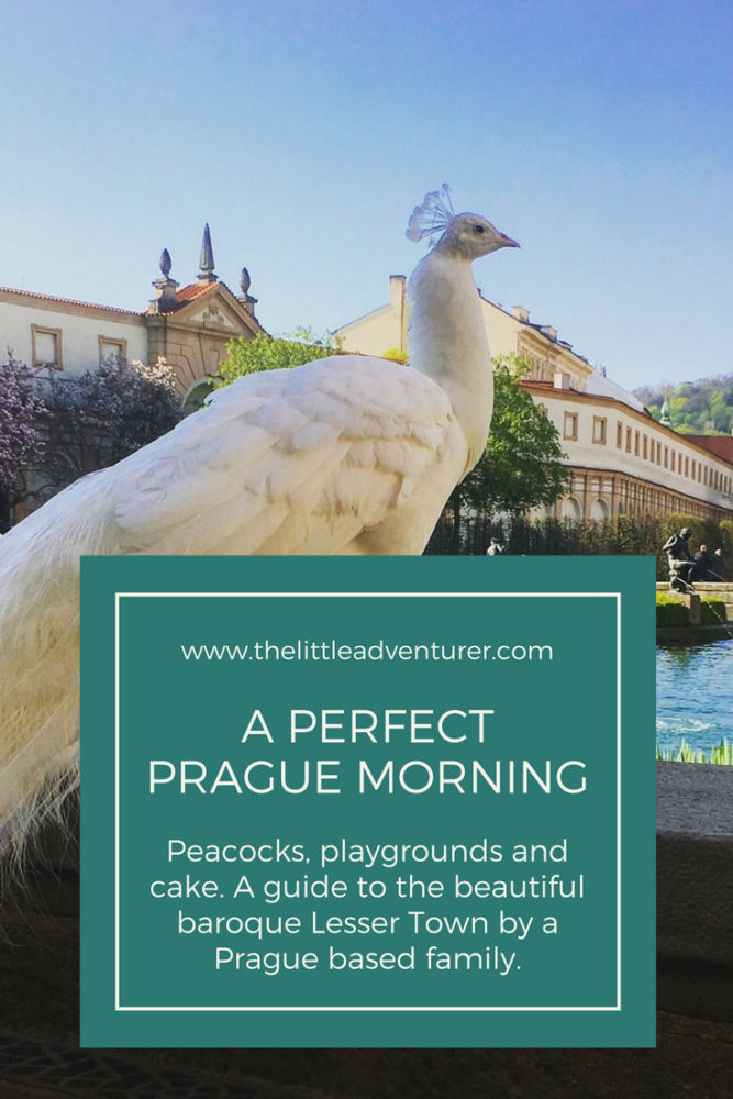 A guide to Prague's baroque Lesser Town, an ideal morning for both curious travellers and active children. #Prague #Travel #Kids #FamilyTravel