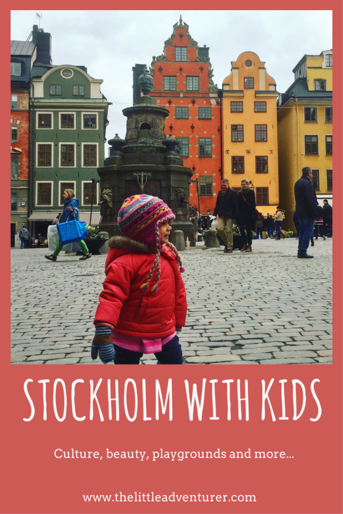 Culture, beauty and playgrounds - why Stockholm makes an ideal family city break. #Stockholm #Travel #Kids