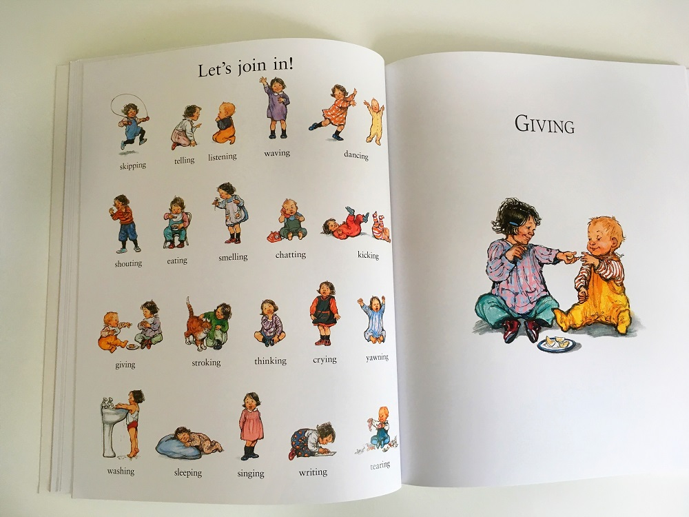 Let's join in, chapter page by Shirley Hughes