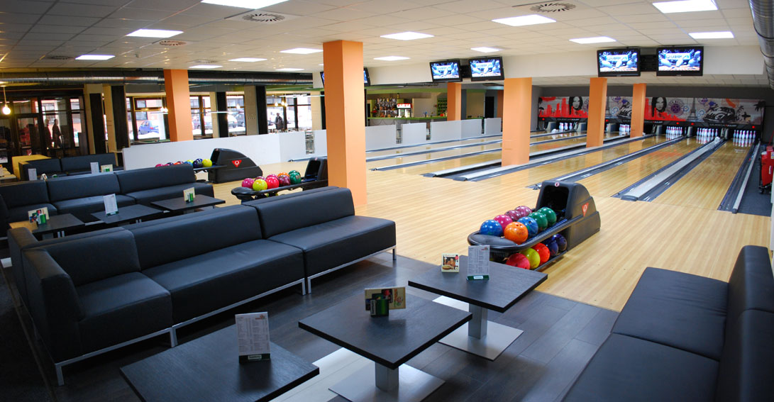 Family-friendly bowling at Bowling Celnice Prague. 11 indoor activities for kids in Prague, written by a local expat family.