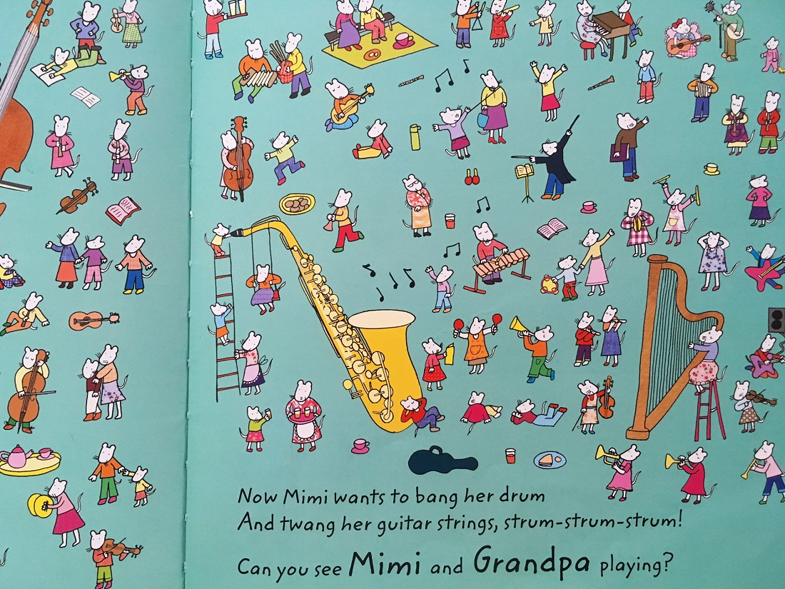 Let's Find Mimi by Katherine Lodge - one of the beautiful find and seek books best suited to 2 - 6 year olds - The Little Adventurer