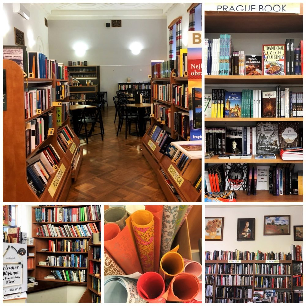 Academia Nakladatelstvi Bookshop and cafe in Prague on Wenceslas Square - Part of a guide to Prague's most charming English bookshops