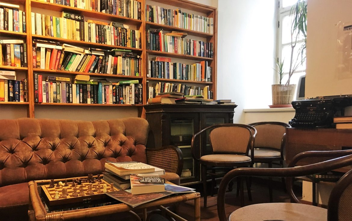 Books, cafes and charm: A guide to the best of Prague's English bookshops.