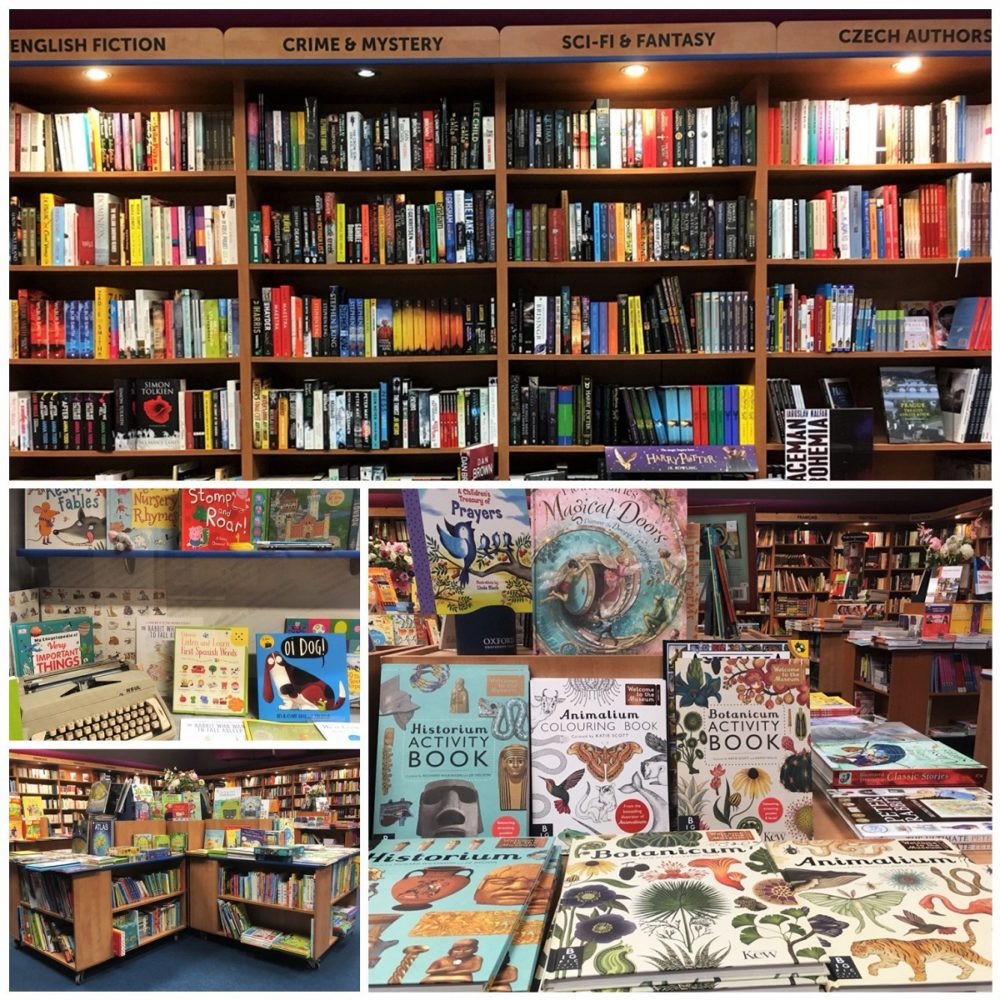 Oxfor Bookshop Prague - Part of a guide to Prague's most charming English bookshops