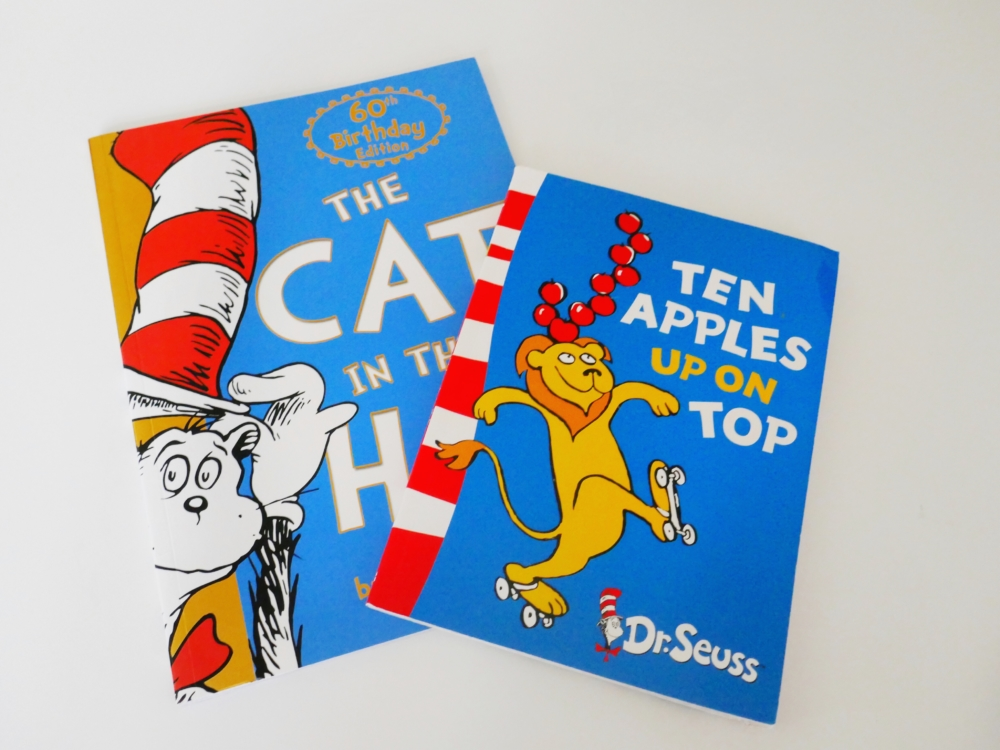 The Cat and the Hat and Ten Apples Up On Top by Dr Suess - part of a round up of picture, activity and chapter books for 6 year olds. The Little Adventurer.