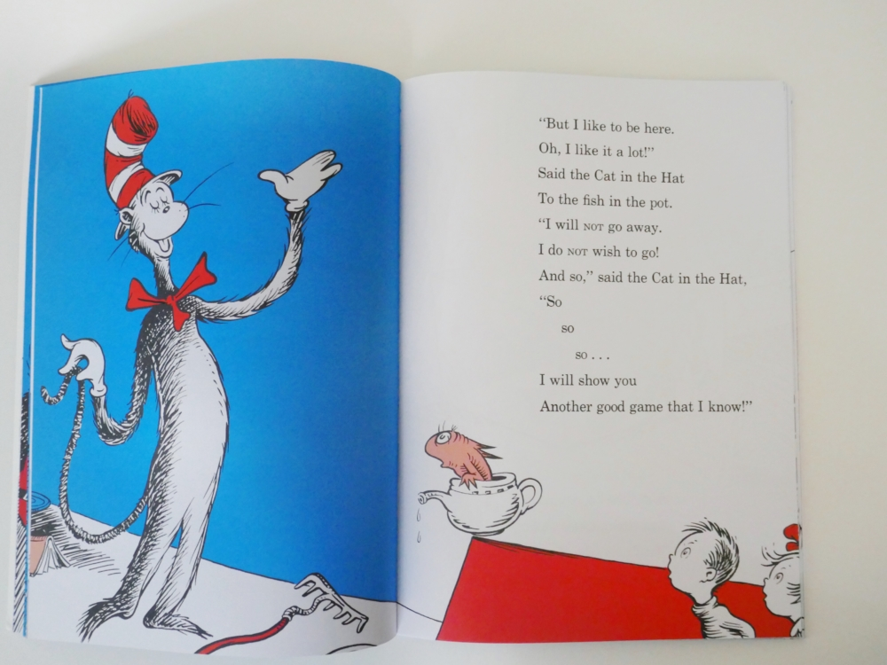 The Cat and the Hat - part of a round up of picture, activity and chapter books for 6 year olds. The Little Adventurer.