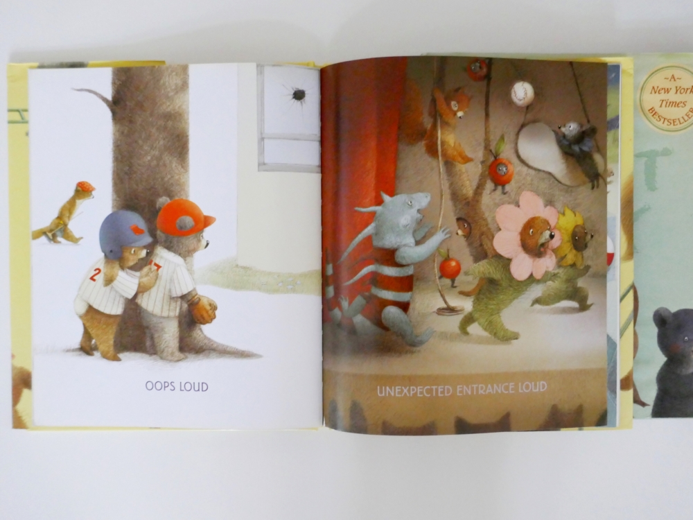 The Loud Book - part of a round up of picture, activity and chapter books for 6 year olds. The Little Adventurer.