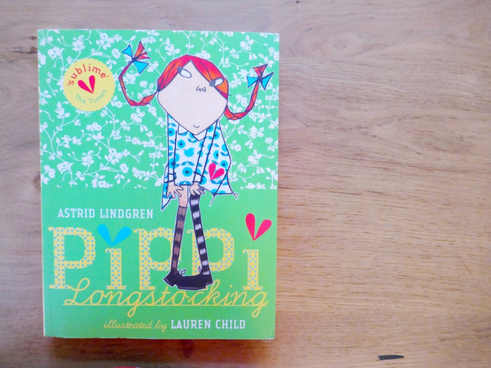 Pippi Longstocking  - part of a round up of picture, activity and chapter books for 6 year olds. The Little Adventurer.