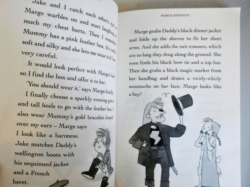 Marge in Charge - part of a round up of picture, activity and chapter books for 6 year olds. The Little Adventurer.